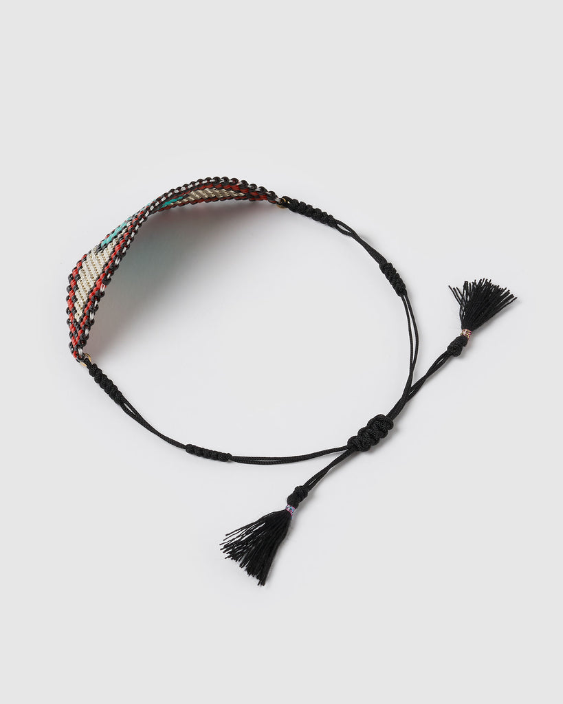 Miz Casa & Co Glimpse Bracelet Black