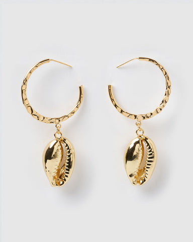 Miz Casa & Co Envy Earrings Gold