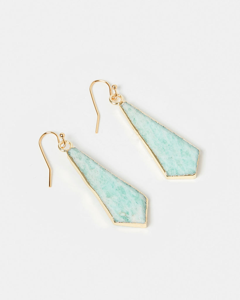 Miz Casa & Co Mermaids Tale Earrings Gold