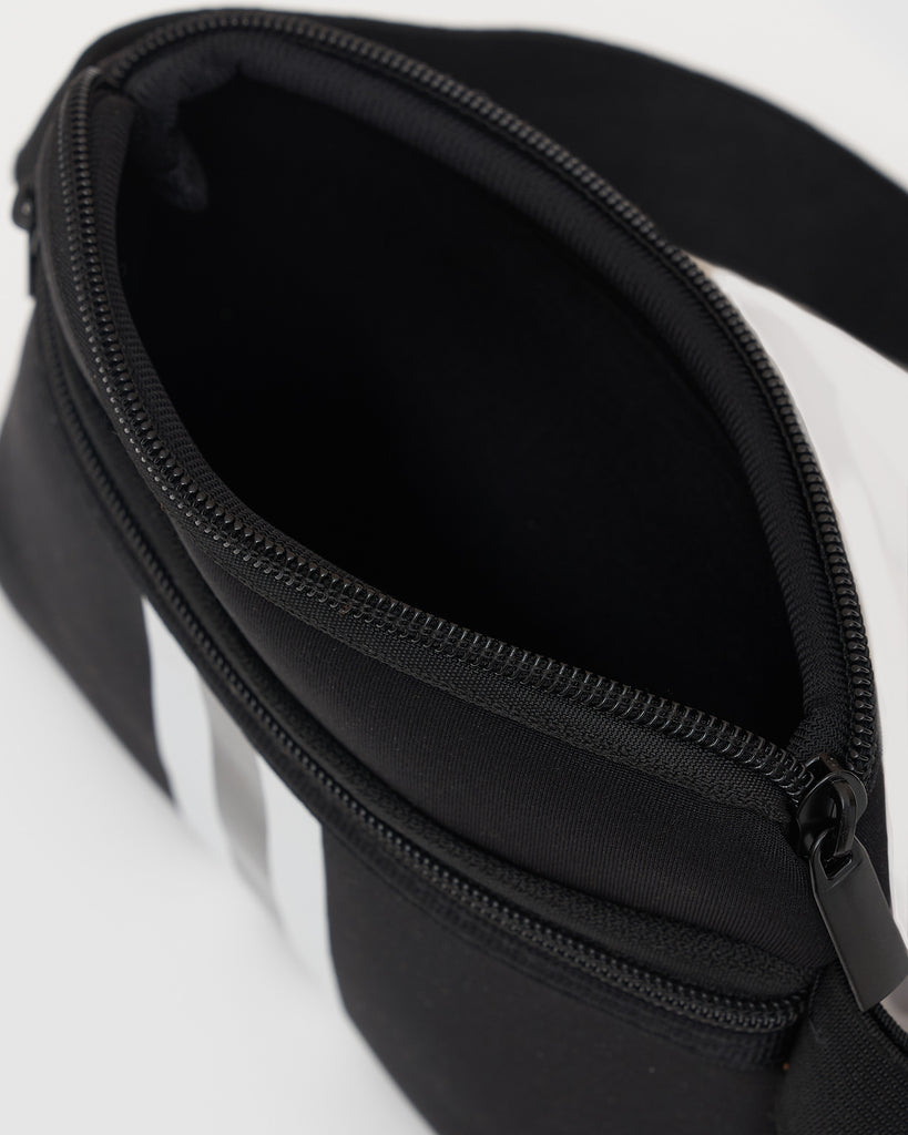 Miz Casa & Co KIDS Zoe Neoprene Mini Waist Pouch Black