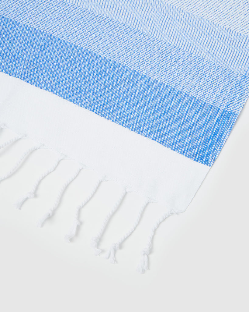 Miz Casa & Co Ibiza Turkish Towel Blue & Aqua