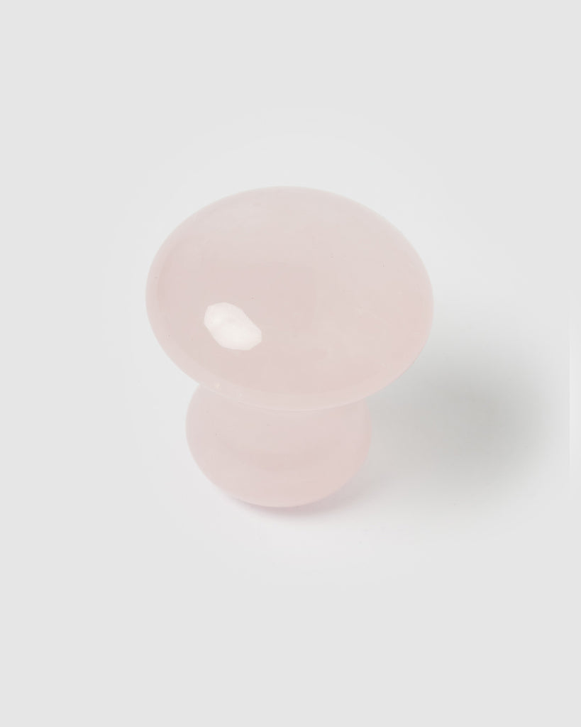Miz Casa & Co Eye Massage Mushroom Tool Rose Quartz