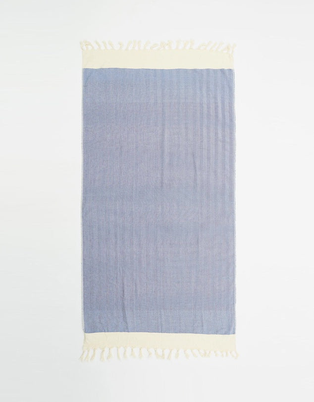 Miz Casa & Co Nice Turkish Towel Blue