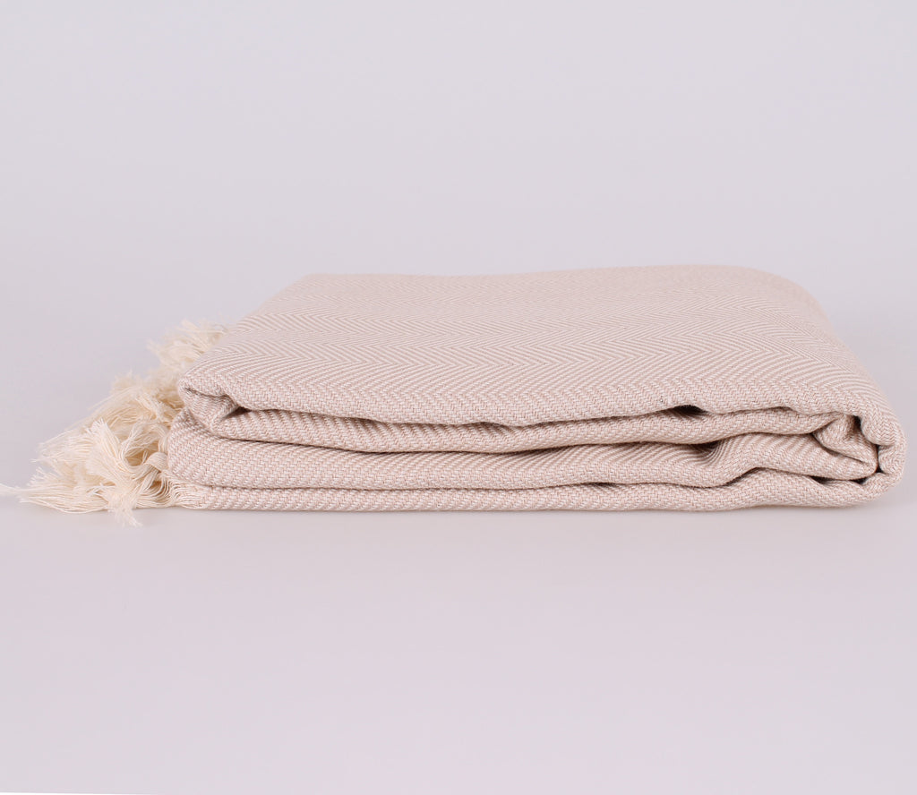 Nice Beige Turkish Throw