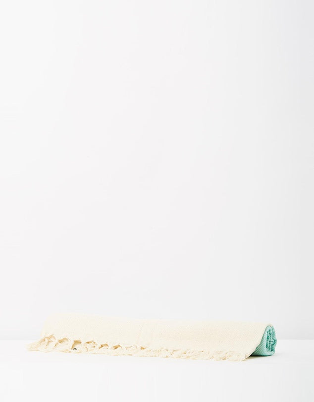Miz Casa & Co Santorini Turkish Towel Mint