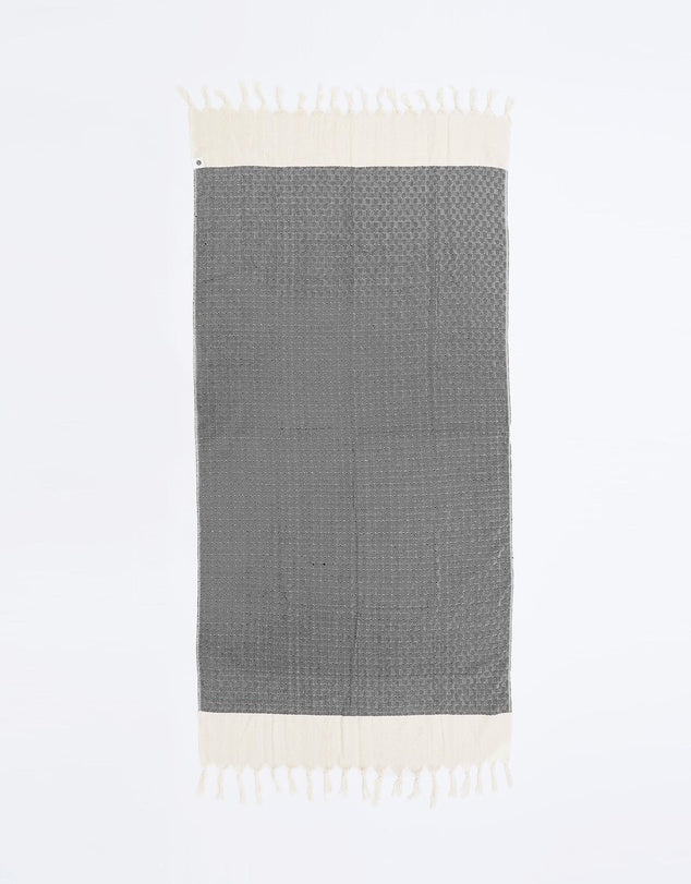Miz Casa & Co Santorini Turkish Towel Navy
