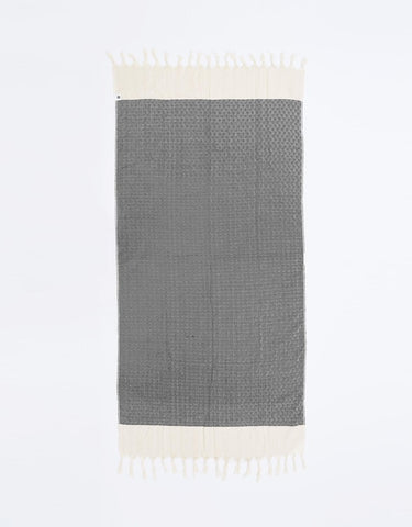Miz Casa & Co French Riviera Turkish Towel Lilac