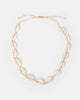 Miz Casa & Co Sea Shell Necklace White