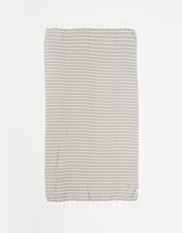 Santorini Black Turkish Towel