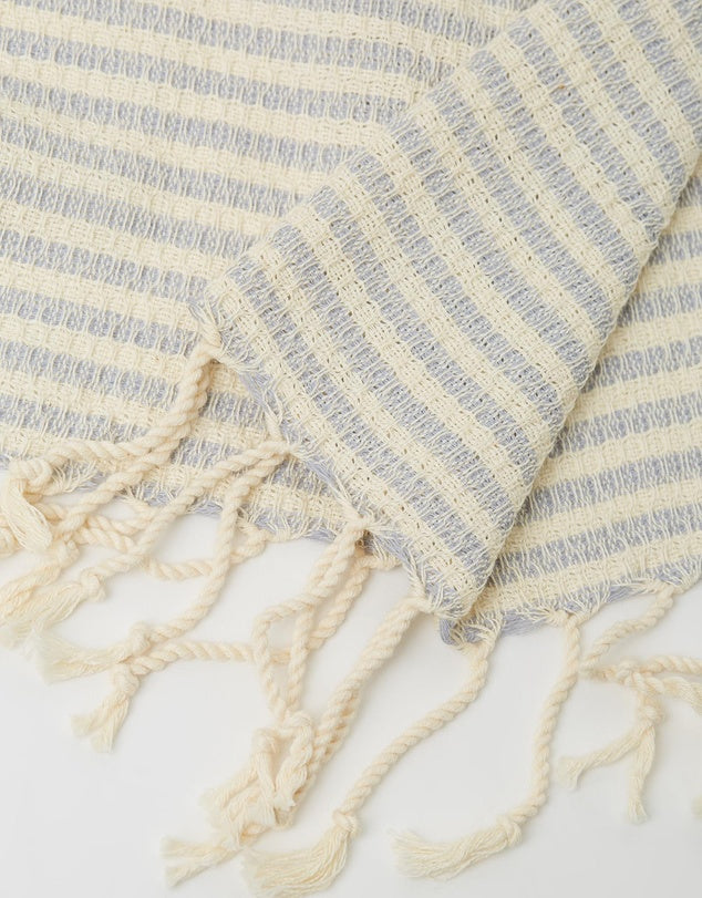 St Tropez Grey Turkish Towel