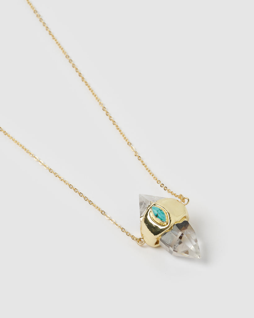 Miz Casa & Co Sabrina Necklace Turquoise