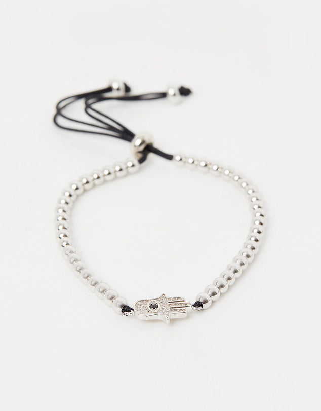 Izoa Two Hands Bracelet Set Silver