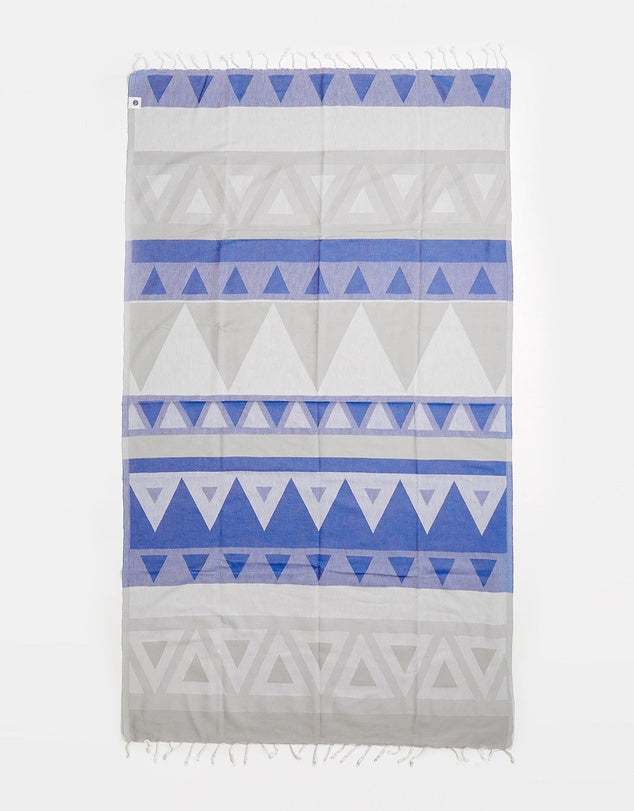 Miz Casa & Co Venice Turkish Towel Blue