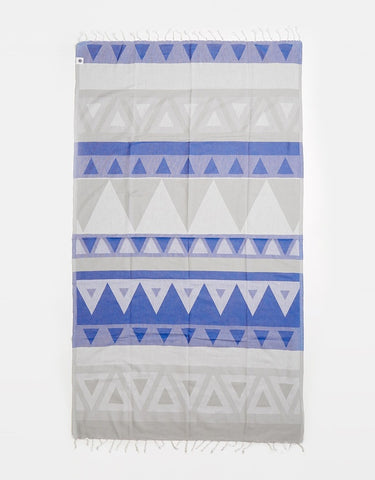 Miz Casa & Co Sunshine Coast Turkish Towel Blue