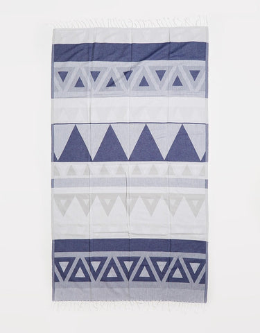 Miz Casa & Co Santorini Turkish Towel Beige