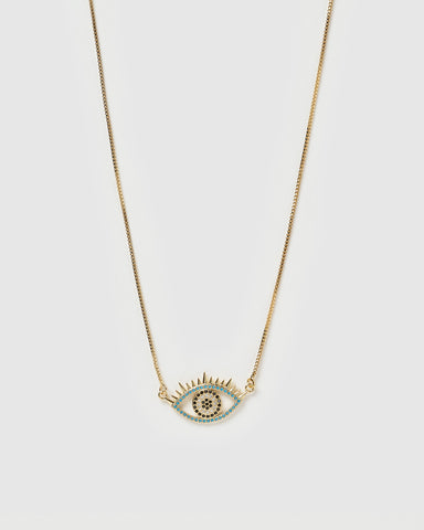 Miz Casa & Co Orient Pendant Necklace Gold