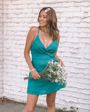Miz Casa and Co Hazel Dress Emerald