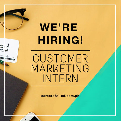 Please Refer To The Job Description And Qualifications Below. Customer Marketing  Intern:
