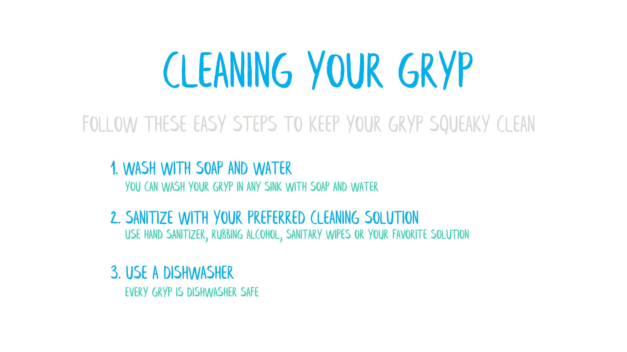 CLEANING YOUR GRYP KEYCHAIN