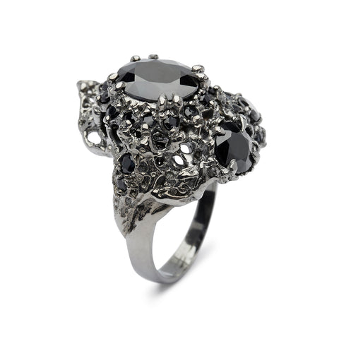 20000 Leagues Ring Black