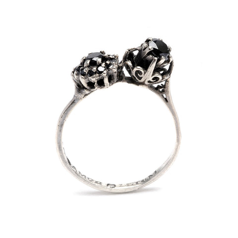 Alex Louise Ring Black Diamond