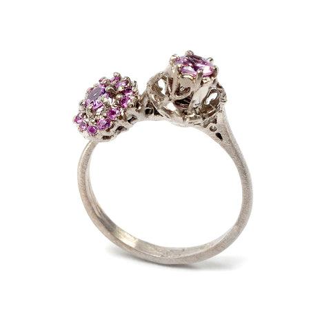 Alex Louise Ring Pink Sapphire