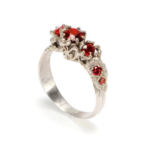 Art Nouveau Ring Ruby