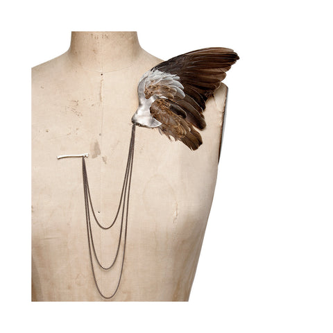 Bird Wing Brooch