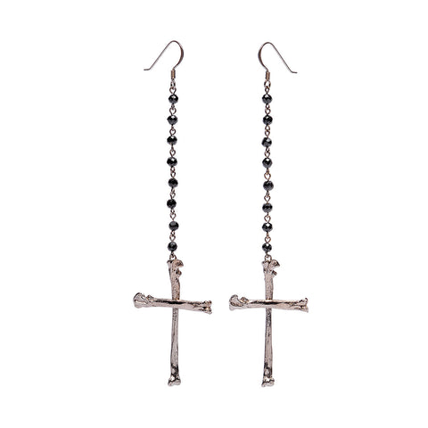 Calvinism Rosary Earrings