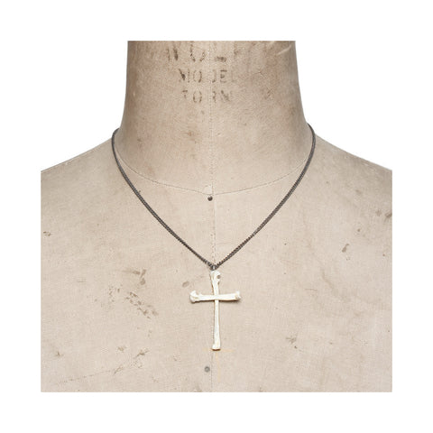 Calvinism Necklace White
