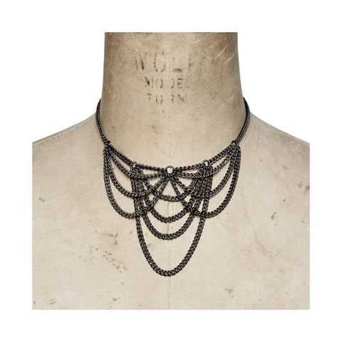Cobweb Necklace