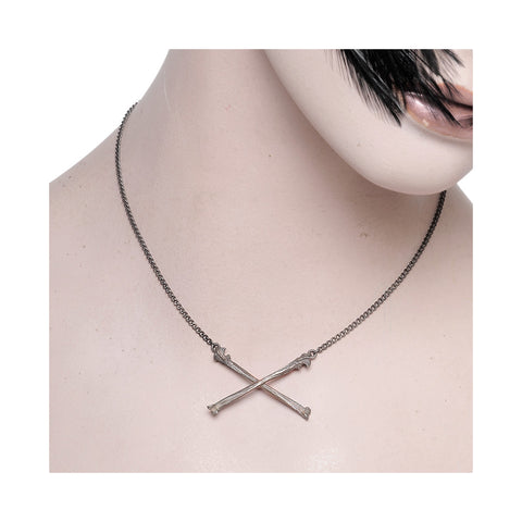 Crossbones Necklace Ox