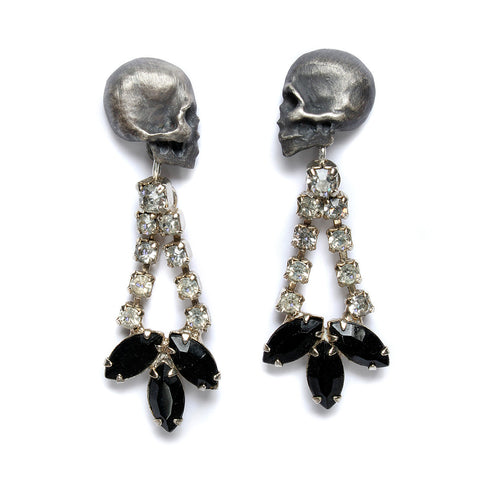 Death & Diamonds Earrings