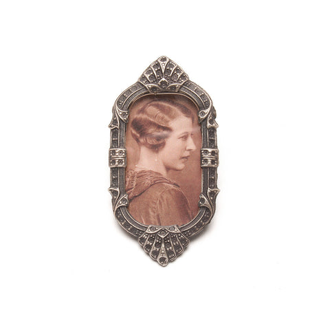 Elvie Frame Brooch