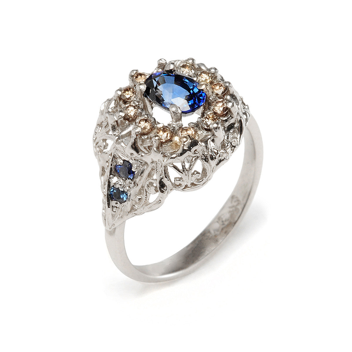 Flame Ring Sapphire