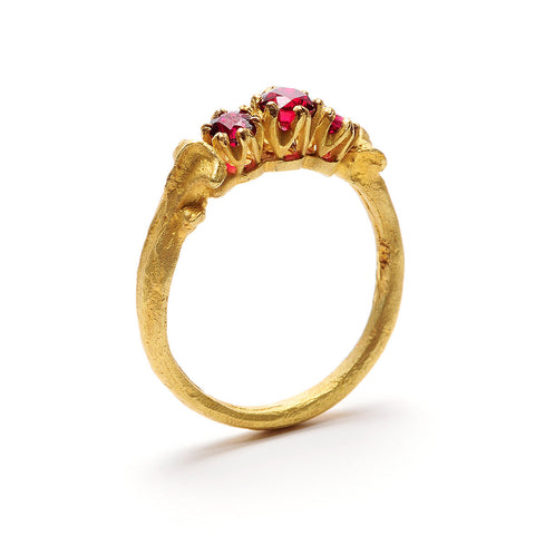Nanna's Engagement Ring Gold & Ruby