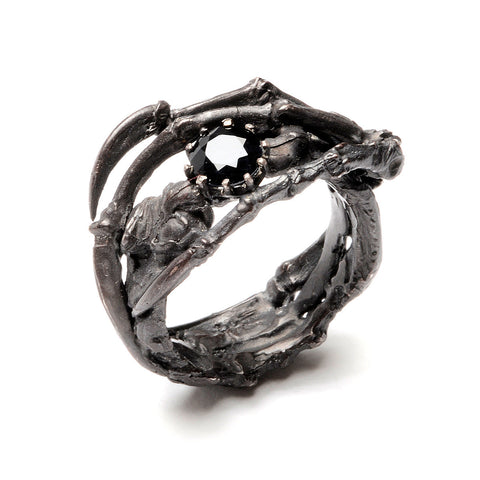 Raven Claw Ring Organic