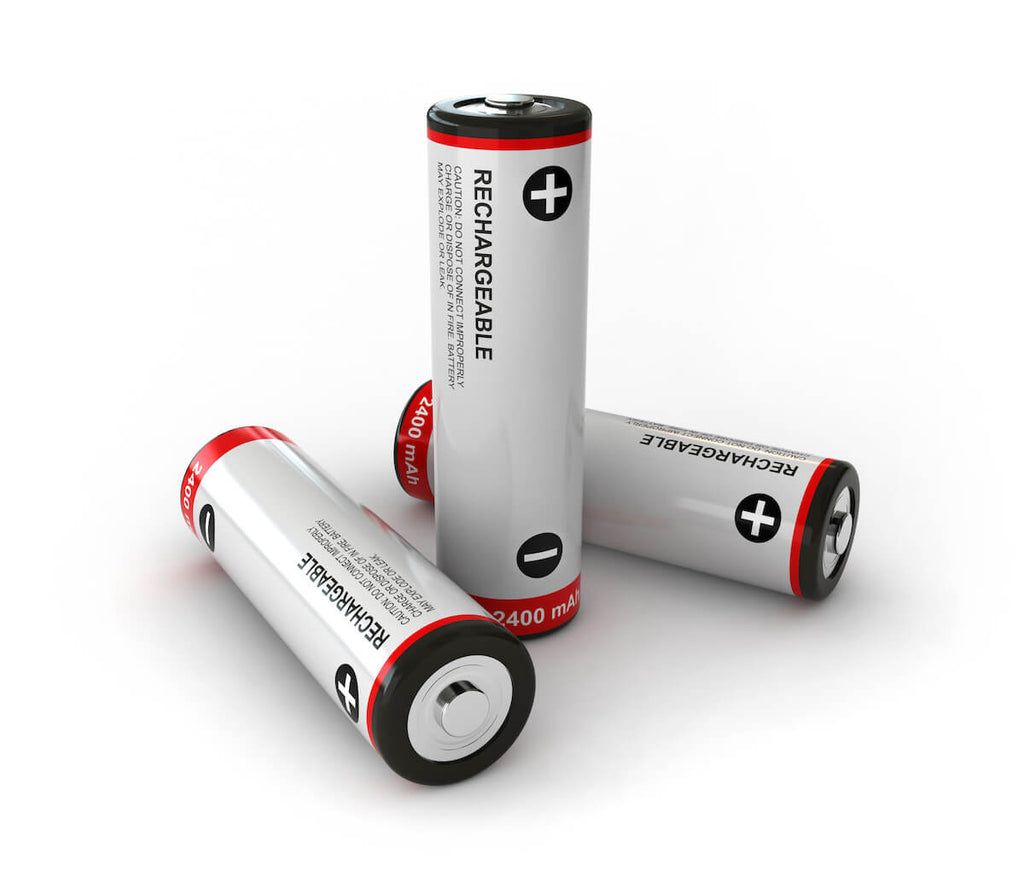 sustainable products: rechargeable batteries