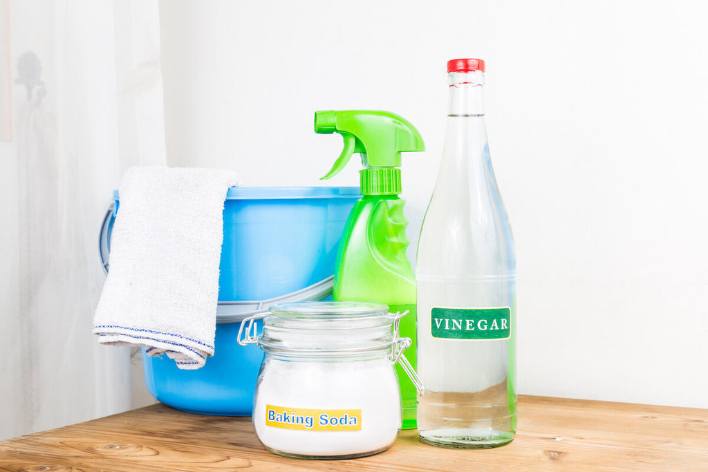 Kitchen cleaning materials