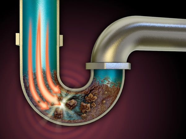 How to use a drain snake: Profile of a clogged drain