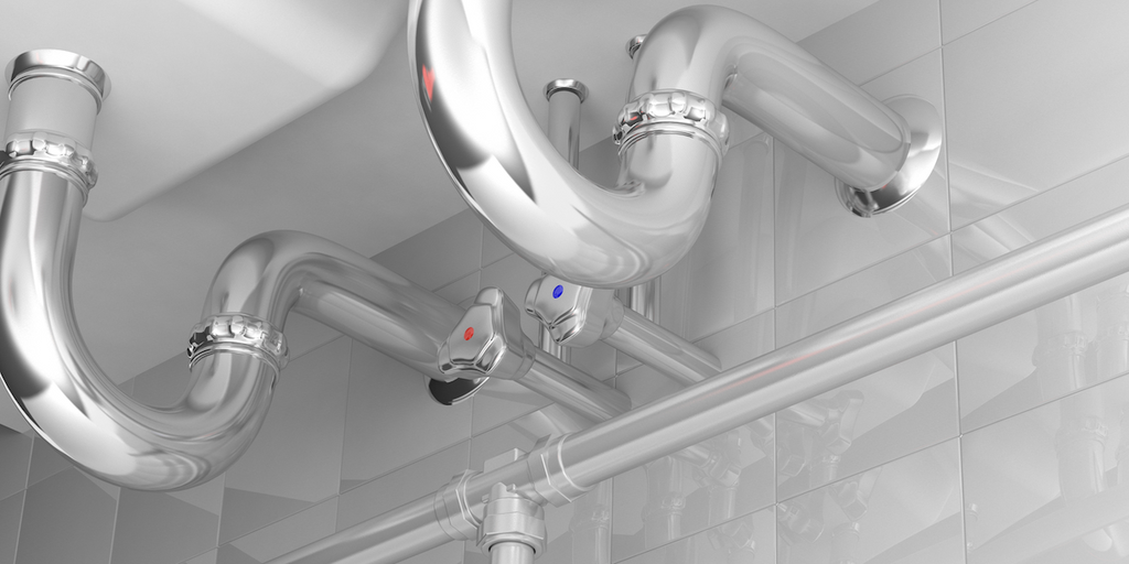 how to get rid of drain flies: pipes under the sink