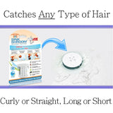 SinkShroom® (White) The Hair Catcher That Prevents Clogged Bathroom Sink Drains Drain Protector Juka Innovations Corporation