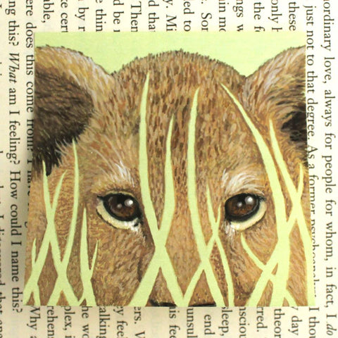 Lion Cub Post-it