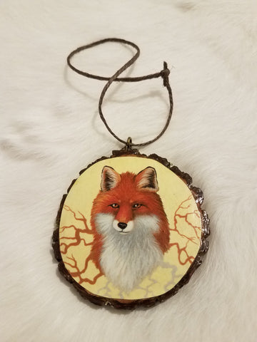 'Fox Roots' Ornament