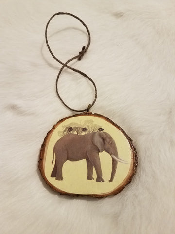 'Elephant Jungle' Ornament