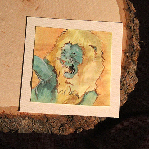 Lion Post-it