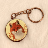 Fox Roots Keychain