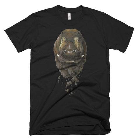 Crumbling Hippo T-shirt (7 Color Options)