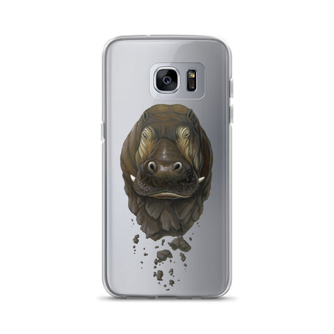 Crumbling Hippo Samsung Case (S7-S9+)