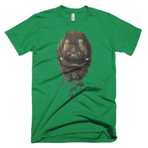 Crumbling Hippo T-shirt (8 Color Options)